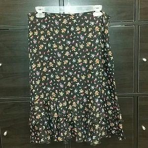 Josephine Chaus 100 % Silk skirt